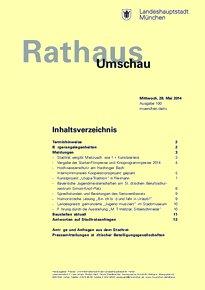 Rathaus Umschau 100 / 2014