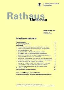 Rathaus Umschau 101 / 2014