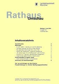Rathaus Umschau 102 / 2014