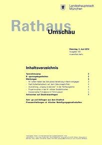 Rathaus Umschau 103 / 2014