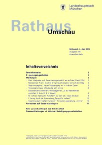 Rathaus Umschau 104 / 2014