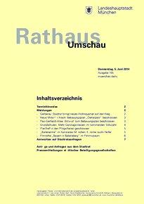 Rathaus Umschau 105 / 2014