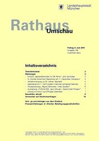 Rathaus Umschau 106 / 2014