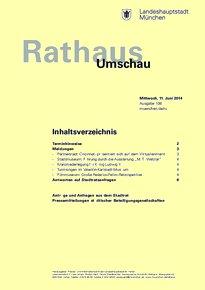 Rathaus Umschau 108 / 2014