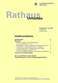 Rathaus Umschau 109 / 2014