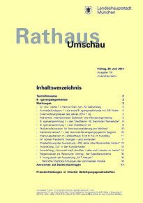 Rathaus Umschau 114 / 2014