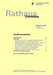 Rathaus Umschau 115 / 2014