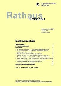 Rathaus Umschau 116 / 2014