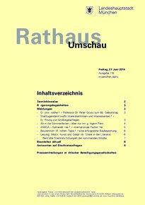 Rathaus Umschau 119 / 2014