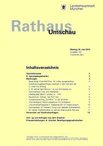 Rathaus Umschau 120 / 2014
