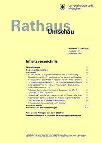 Rathaus Umschau 122 / 2014
