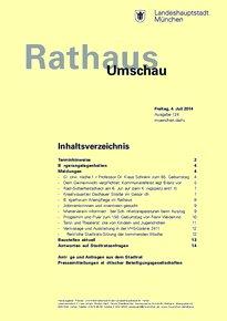 Rathaus Umschau 124 / 2014