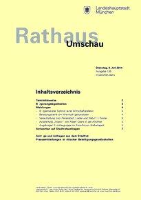 Rathaus Umschau 126 / 2014