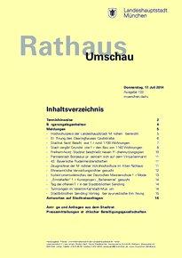 Rathaus Umschau 133 / 2014