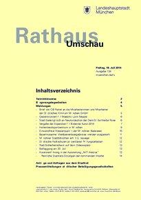 Rathaus Umschau 134 / 2014