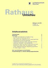 Rathaus Umschau 135 / 2014