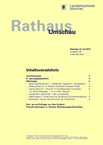 Rathaus Umschau 136 / 2014