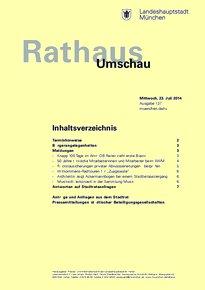 Rathaus Umschau 137 / 2014