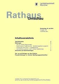 Rathaus Umschau 138 / 2014