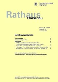 Rathaus Umschau 140 / 2014