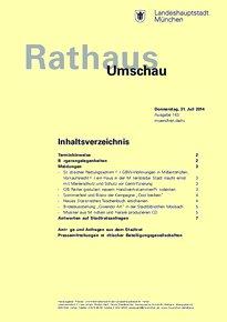 Rathaus Umschau 143 / 2014