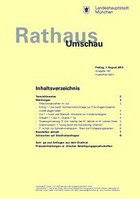 Rathaus Umschau 144 / 2014