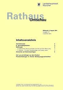 Rathaus Umschau 147 / 2014