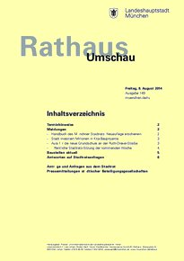 Rathaus Umschau 149 / 2014