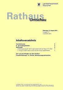 Rathaus Umschau 151 / 2014