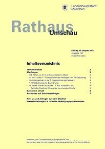 Rathaus Umschau 158 / 2014