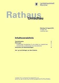 Rathaus Umschau 160 / 2014