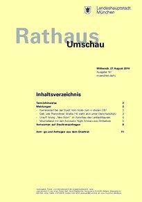 Rathaus Umschau 161 / 2014