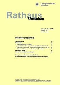 Rathaus Umschau 163 / 2014