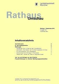 Rathaus Umschau 164 / 2014
