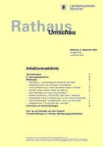 Rathaus Umschau 166 / 2014