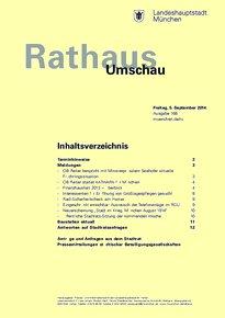 Rathaus Umschau 168 / 2014