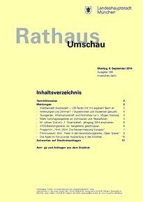 Rathaus Umschau 169 / 2014