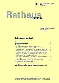 Rathaus Umschau 173 / 2014