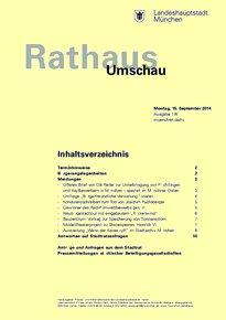 Rathaus Umschau 174 / 2014