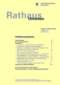 Rathaus Umschau 178 / 2014