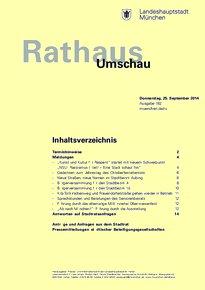 Rathaus Umschau 182 / 2014