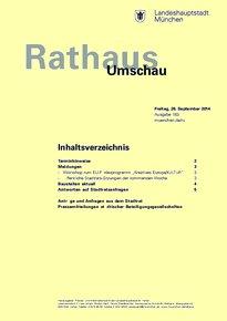 Rathaus Umschau 183 / 2014