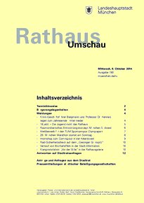 Rathaus Umschau 190 / 2014
