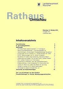 Rathaus Umschau 194 / 2014