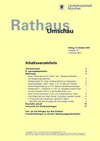 Rathaus Umschau 197 / 2014