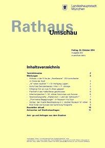 Rathaus Umschau 202 / 2014