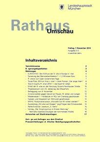 Rathaus Umschau 212 / 2014
