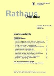 Rathaus Umschau 221 / 2014