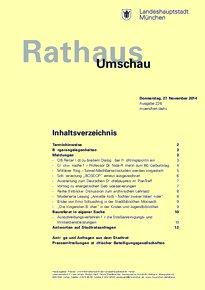 Rathaus Umschau 226 / 2014