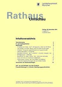 Rathaus Umschau 227 / 2014